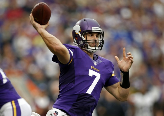 Christian Ponder has trouble hiding dismay at developing Viking…