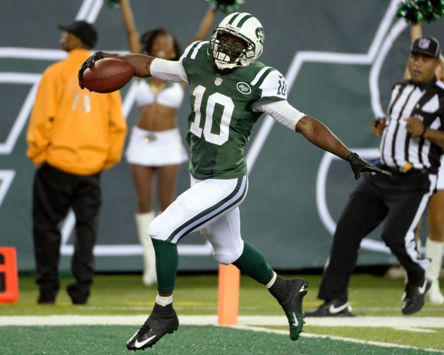 Santonio Holmes says of New York Jets' passing game, 'I can't t…