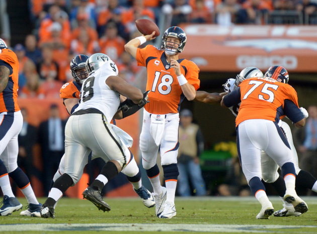 Is it too early to give Peyton Manning the 2013 NFL MVP? Bronco…