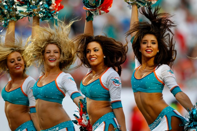 Miami Dolphins cheerleaders web page hacked by porn site – it h…