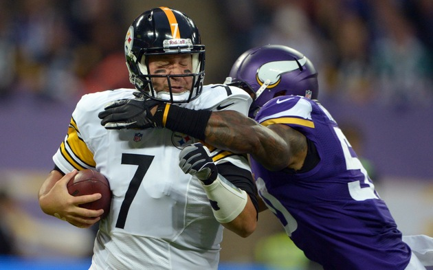 Big Ben falls in London, as Pittsburgh Steelers fall to 0-4