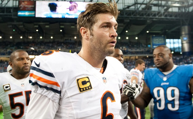 Jay Cutler melts down in Chicago Bears' first loss of the seaso…