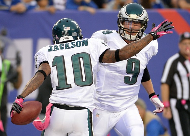Nick Foles to start for Eagles with Michael Vick expected out v…