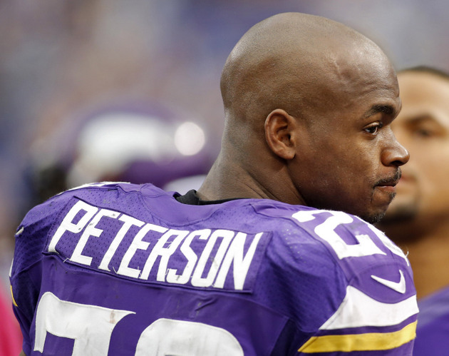 Vikings: Hamstring limits Adrian Peterson