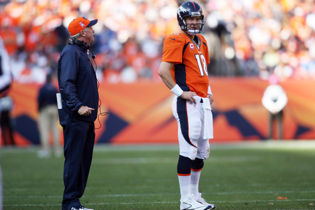 Peyton Manning, John Fox don't say anything about Jim Irsay, wh…