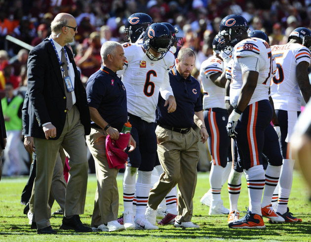 Bears quarterback Jay Cutler returns to practice ahead of sched…