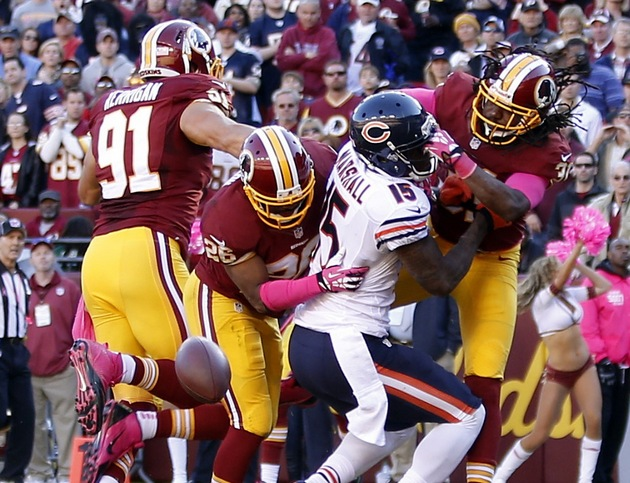 Redskins safety Brandon Meriweather suspended 2 games for repea…