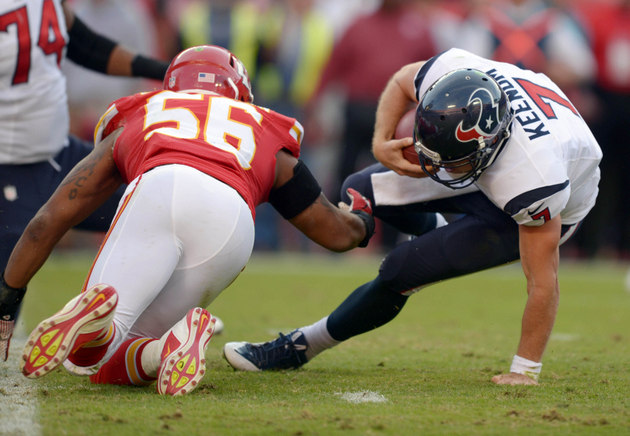 Keenum, Texans give undefeated Chiefs a real scare at Arrowhead