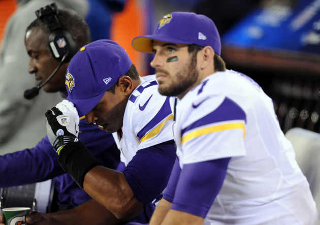 Christian Ponder might start at quarterback for Vikings this we…