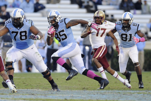 NFL Draft: Top tight end prospect Eric Ebron is good … just ask…