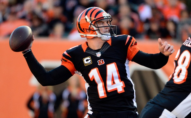 Bengals' Dalton coming into his own, with help from Jones, foll…