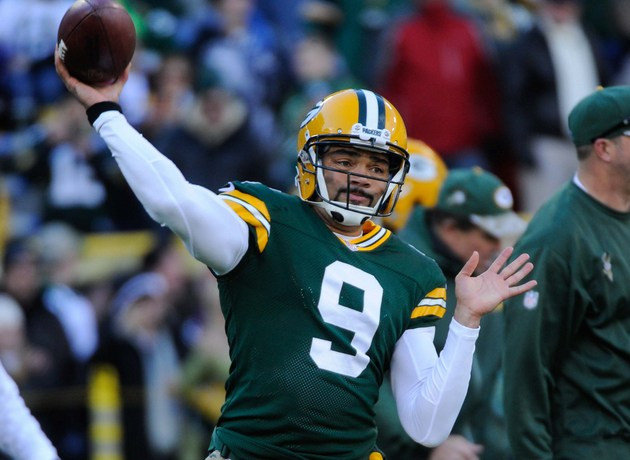 Seneca Wallace out with groin injury, replaced by Scott Tolzien…