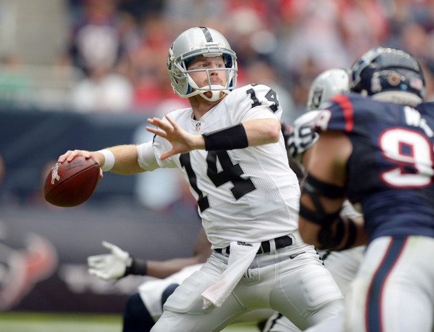 Matt McGloin throws three TDs in win, puts himself in mix to be…