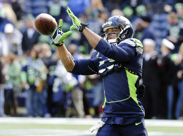 Seahawks' Harvin listed as doubtful for game vs. Saints on Mond…