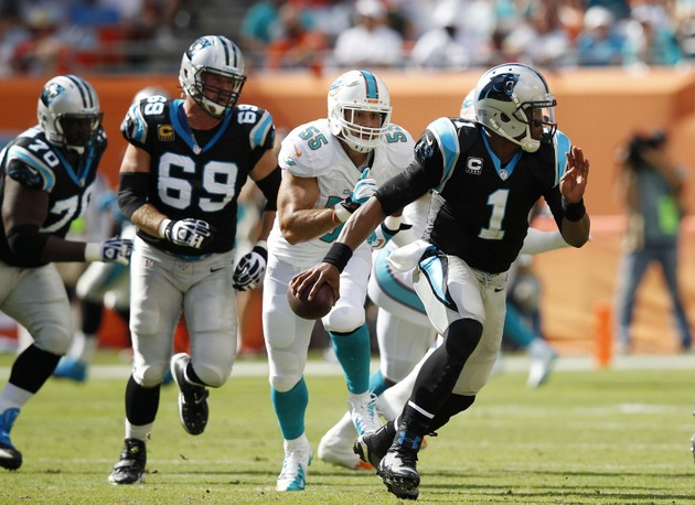 Panthers pull off last-minute win to remain in thick of NFC Sou…