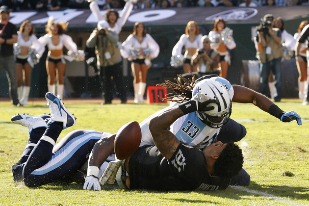 Titans safety Michael Griffin suspended for nasty hit on Raider…