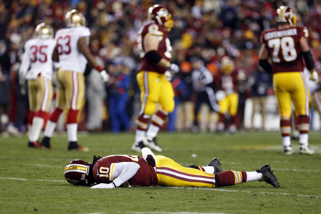 Robert Griffin III struggles again, is it time to consider a sw…