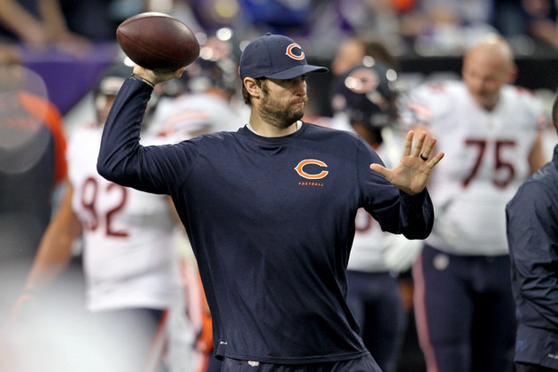 Marc Trestman's controversial decision to go with Jay Cutler no…