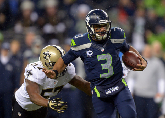 Behind Russell Wilson, the Seahawks absolutely destroy the Sain…