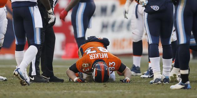 Denver Broncos receiver Wes Welker expected to miss rest of reg…