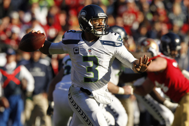Seahawks' Russell Wilson taken by baseball's Texas Rangers in R…
