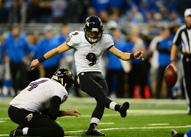 Can an NFL kicker make a 70-yard field goal? Baltimore's Justin…