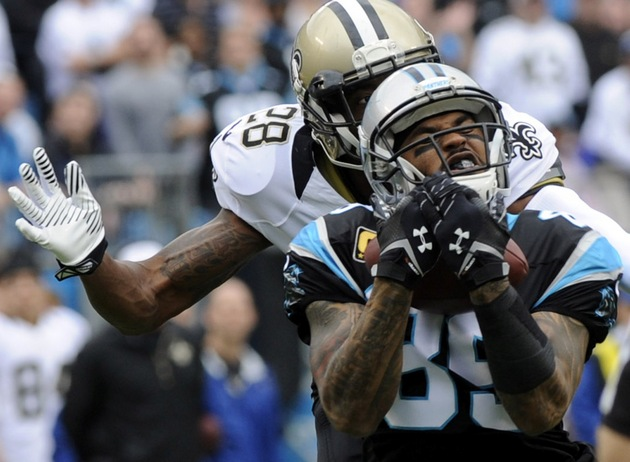 Carolina Panthers' Steve Smith injures left knee on non-contact…