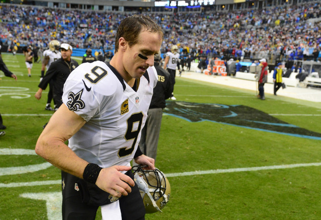 Should New Orleans Saints be concerned about Drew Brees' knee i…