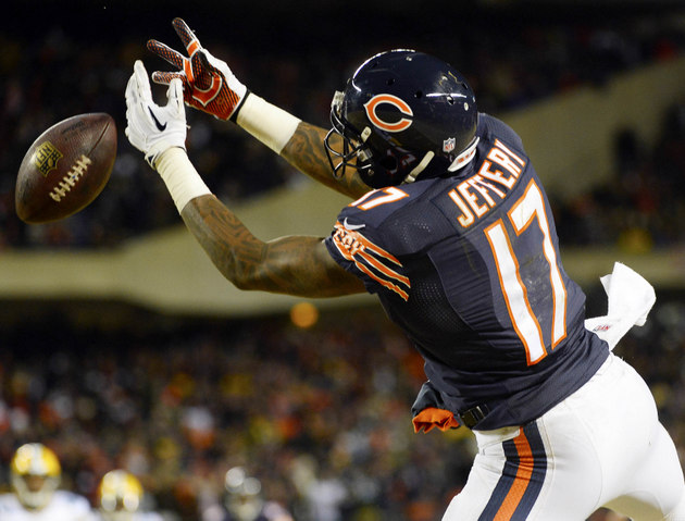 Chicago Bears' Alshon Jeffery not worried about getting paid, j…