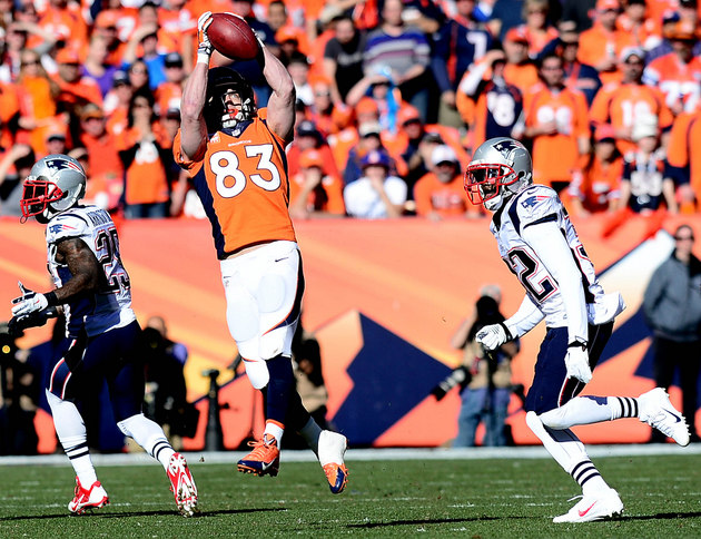 Denver Broncos defend Wes Welker, avoid Richard Sherman talk
