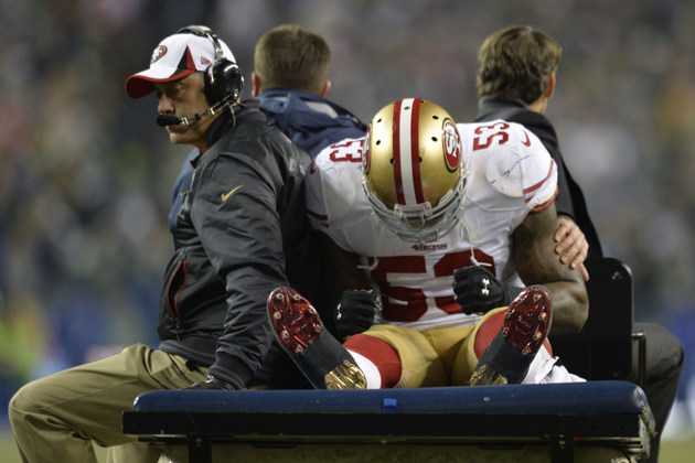NaVorro Bowman has torn ACL, will wait 2-3 weeks to determine i…