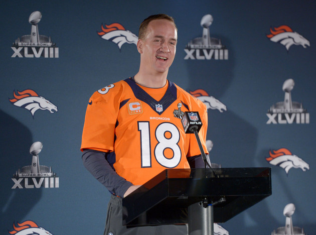 Report: Peyton Manning wins record fifth MVP, but at least one …