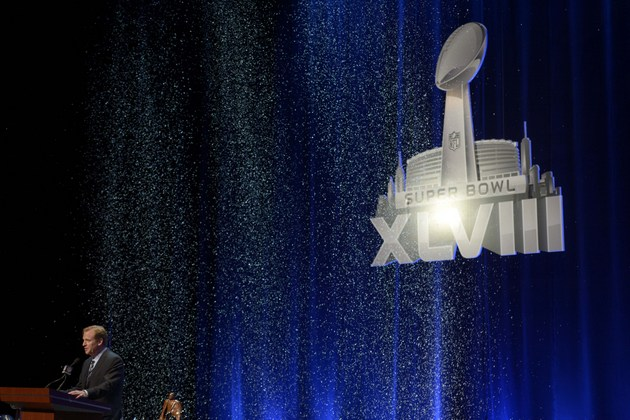 Roger Goodell enjoying NY/NJ Super Bowl, avoids question about …