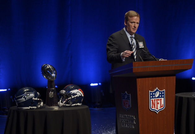 Roger Goodell in favor of replay changes, expanding NFL playoff…