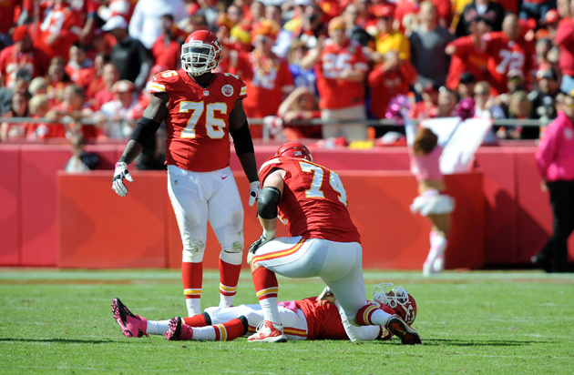 Chiefs release RT Eric Winston, and Branden Albert confirms his…