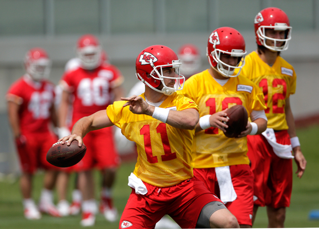 Andy Reid wants Alex Smith to air it out for Chiefs, but can he…