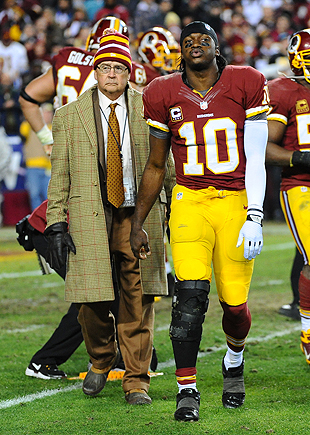 "RG3""²s knee surgeon: Griffin is 'superhuman' in recovery"