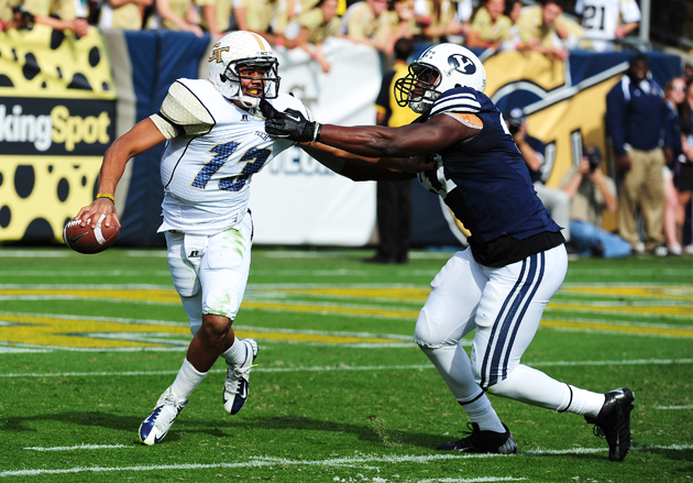 Detroit Lions select BYU DE Ezekiel Ansah with the fifth overal…