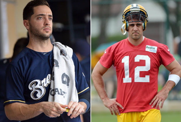 Aaron Rodgers, who 'put my salary on' Ryan Braun being clean, p…