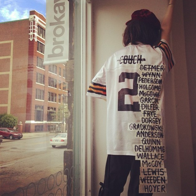 The Cleveland Browns from 1999 to present, summed up in one inc…