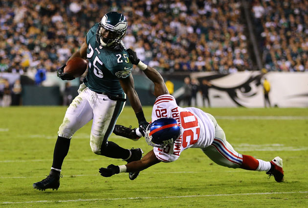 LeSean McCoy has taunted tacklers with his own name