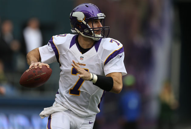Christian Ponder might not be able to go for Vikings