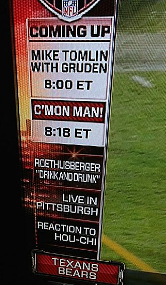 In unfortunate typo, ESPN touts Ben Roethlisberger's 'drink and…