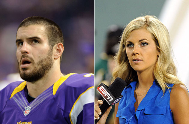 Vikings' Christian Ponder, ESPN's Samantha Steele are engaged