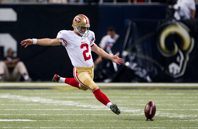 49ers' David Akers quits Twitter after death threat