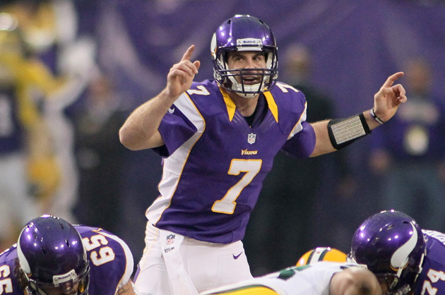 Minnesota Vikings QB Christian Ponder is being mentored by … Je…