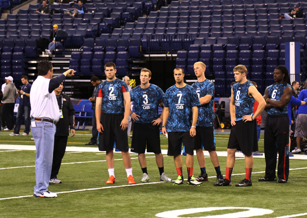 Quarterback picture is still foggy as draft draws near