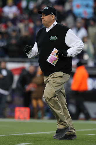 Rex Ryan gets while the getting's good, leaves town without tal…