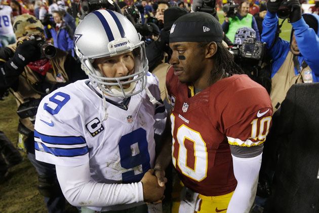 RG3 offers words of comfort for Tony Romo