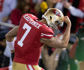 Thanks, Tebow: Colin Kaepernick to trademark 'Kaepernicking'